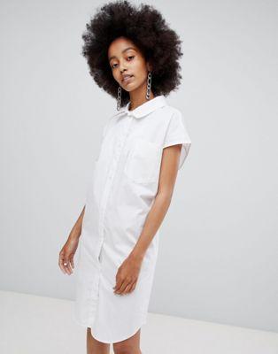 Cheap Monday - Vestito cocoon con stampa a vortici