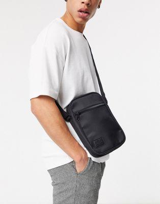 Изображение 1 из Черная сумка с нашивкой ASOS DESIGN