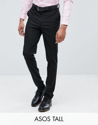 Черные брюки скинни ASOS DESIGN Tall