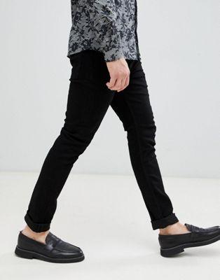 Черные джинсы скинни AllSaints