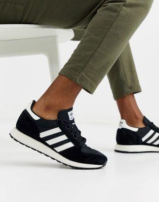 Черные кроссовки adidas Originals - Forest Grove