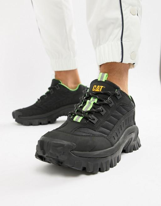 e0d224ad1 Изображение 1 из Черные кроссовки на толстой подошве CAT Intruder