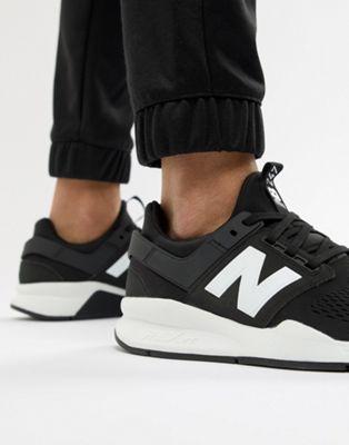 Черные кроссовки New Balance 247v2 MS247EB