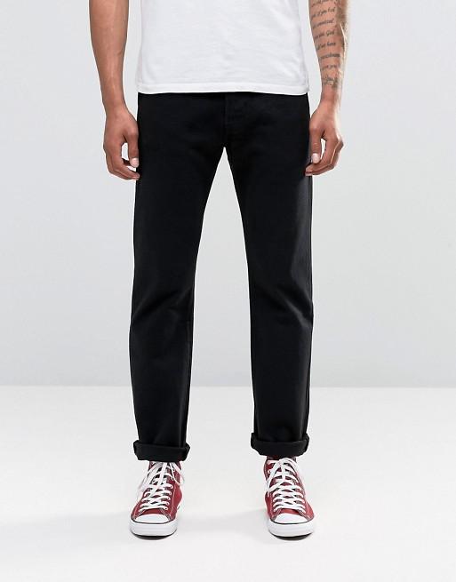 Изображение 1 из Черные прямые джинсы с классической талией Levi's Original 501