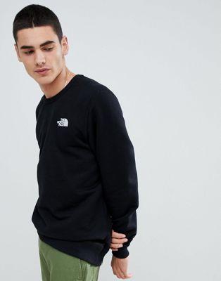 Черный флисовый пуловер The North Face