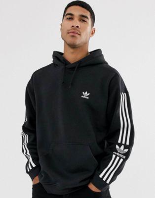 Изображение 1 из Черный худи с 3 полосками и логотипом adidas Originals