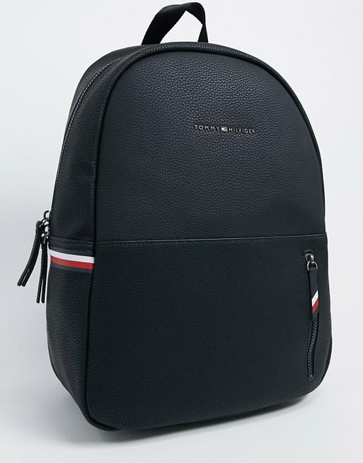 Черный рюкзак из искусственной кожи Tommy Hilfiger эксклюзивно для ASOS
