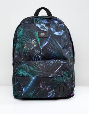Черный рюкзак с принтом Vans Old Skool II V00ONIPI3