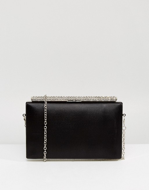 Chi Chi London Diamond Clasp Bag