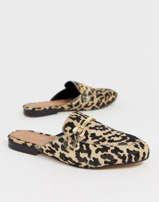 De Efecto Diseño Chinelas Design Poni Piel Leopardo Asos Moves Con xQoWrdeBC