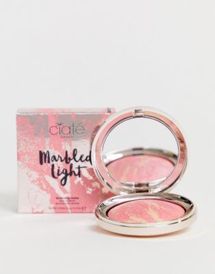 Ciate London X ASOS - EXCLUSIEF - Marbled Light - Lichtgevende blush - Breeze