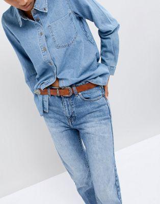Cinturón de cuero estilo western de Wrangler