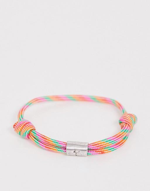 Classics - 77 - Armband van gevlochten touw in verschillende kleuren