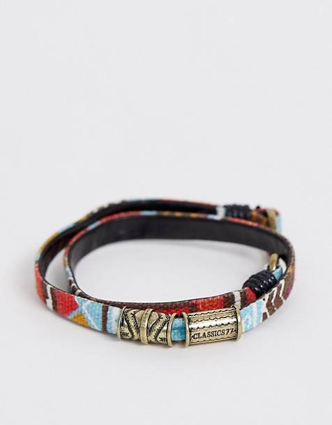 Classics 77 fabric wrap bracelet in multi