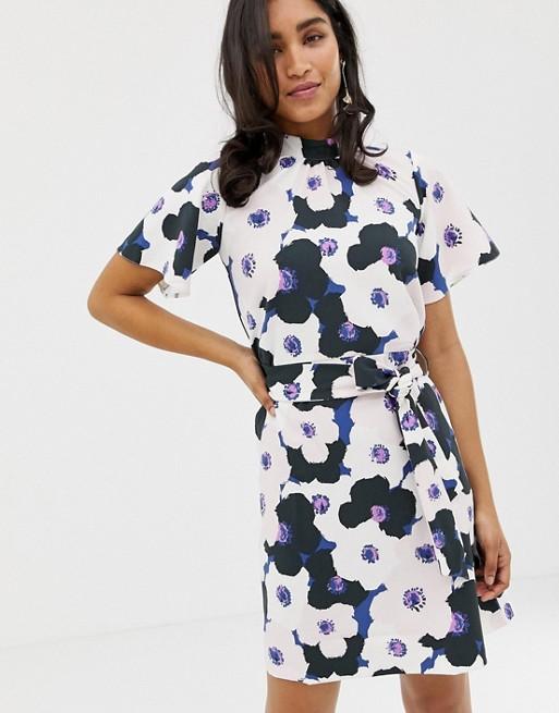 Closet - A-lijn jurk met aangerimpelde top