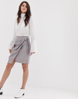 Image 1 of Closet tie waist and pocket skirt