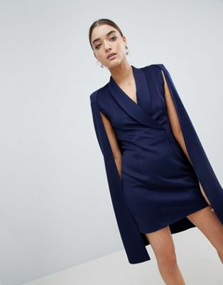 Club L – Blazer-Kleid mit Capedesign