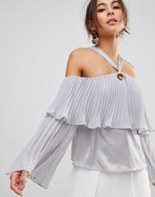 Coast Reneta Tiered Ruffle Top