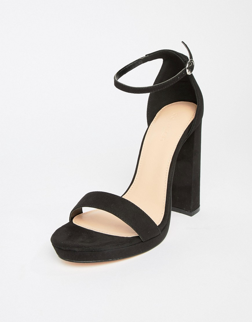 Coco Wren Platform Heeled Sandals by Heels