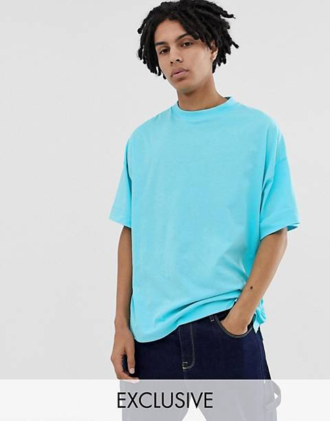 COLLUSION oversized t-shirt in blue