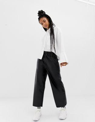 Image 1 sur COLLUSION - Pantalon large en similicuir