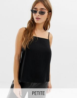 COLLUSION Petite square neck cami