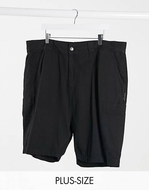 COLLUSION Plus combat short in black