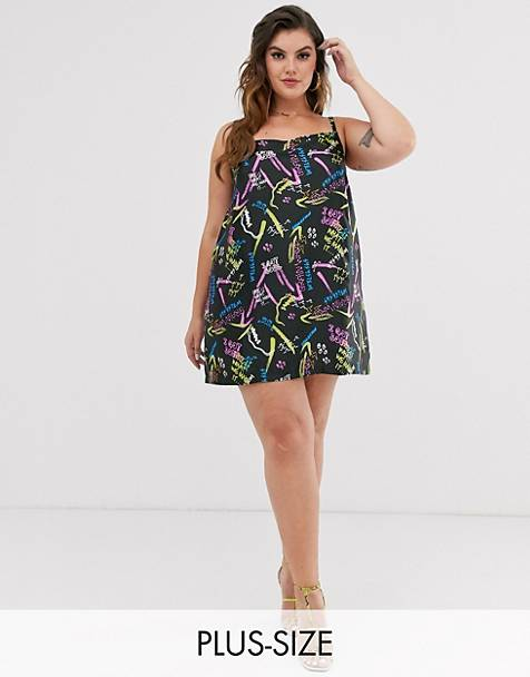 ea440d4c2b Plus Size Dresses | Plus Size Maxi & Shirt Dresses | ASOS