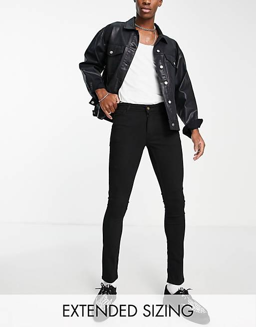 COLLUSION - x001 - Sorte super skinny jeans