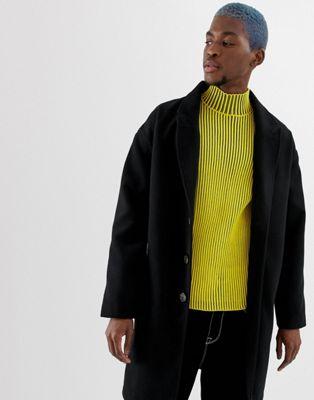COLLUSION - Zwarte jas