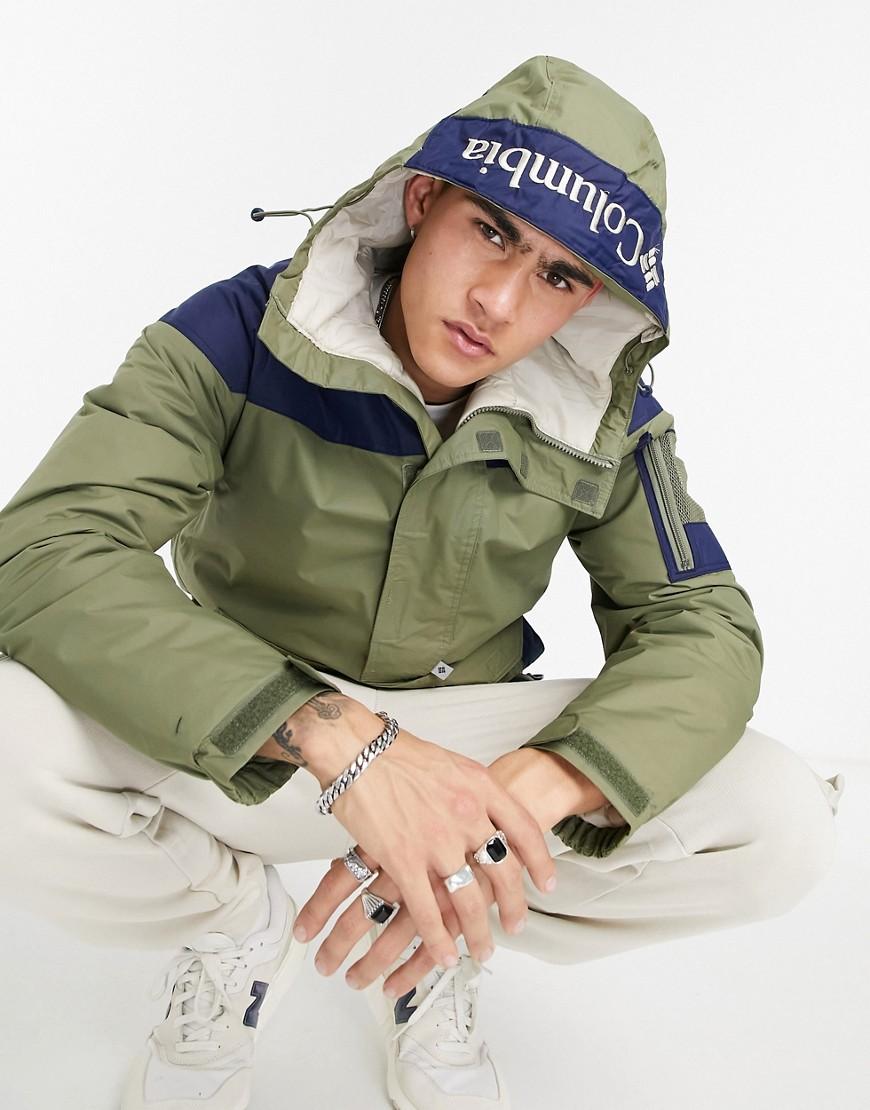 Columbia - Challenger - Grøn pullover-jakke