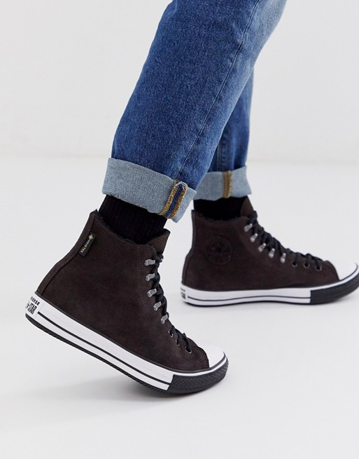 Converse - All Star Chuck Taylor - Waterbestendige sneakers in bruin