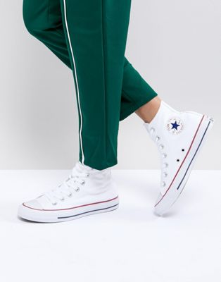 Converse All Star High Top White Trainers