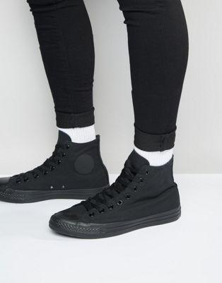 Converse- All Star - Hoge gympen in zwartm3310c