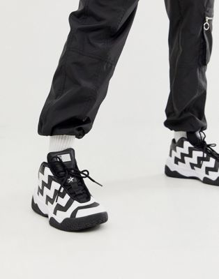 Converse Black And White Voltage Trainers by Converse