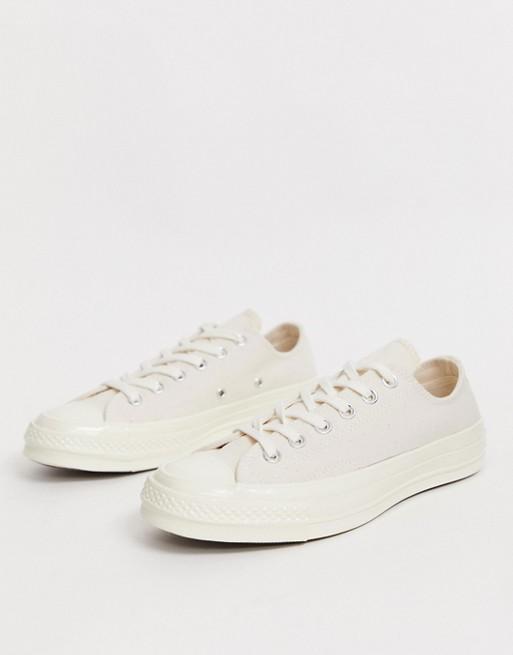 Converse – Chuck '70 Ox Mono – Sneaker in Pergament