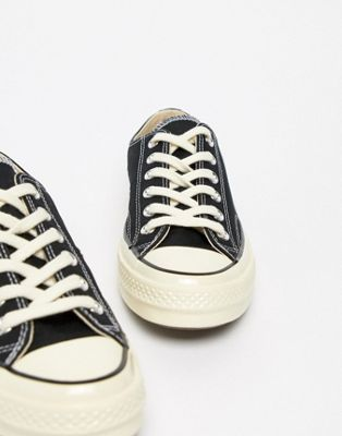 Image 1 of Converse Chuck '70 Ox Sneakers In Black