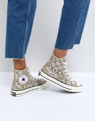 Converse - Chuck Taylor All Star '70 - Baskets montantes imprimé serpent