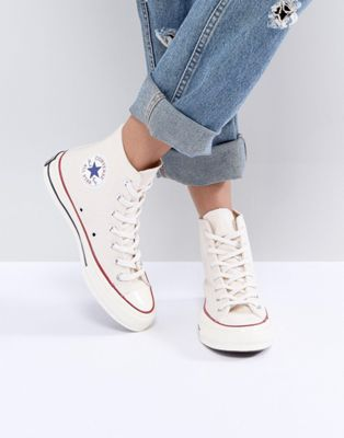 Converse Chuck Taylor All Star '70 High Top Trainers In Beige