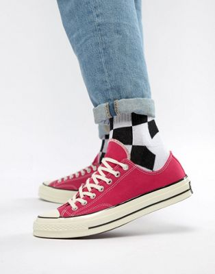 Converse Chuck Taylor All Star '70 Ox Sneakers In Pink 161445C