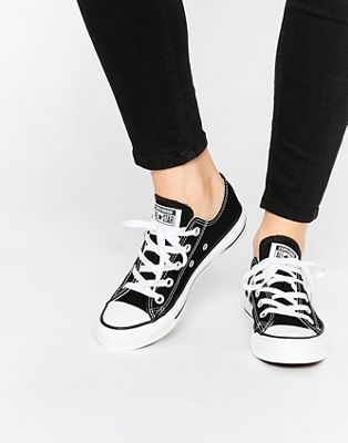 Converse Chuck Taylor All Star Core Black Ox Trainers
