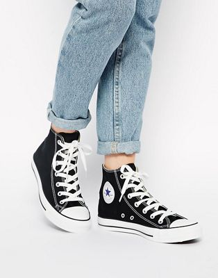 Converse Chuck Taylor All Star High Top Black Trainers