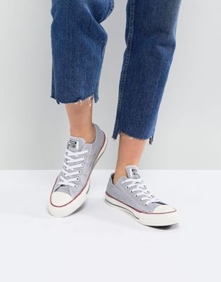 Converse - Chuck Taylor All Star Ox - Baskets - Gris délavé
