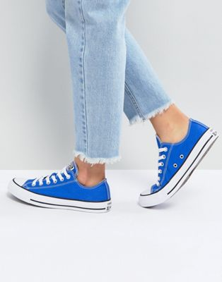 Converse Chuck Taylor All Star Ox Trainers In Royal Blue