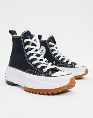 Converse Run Star Hike black trainers