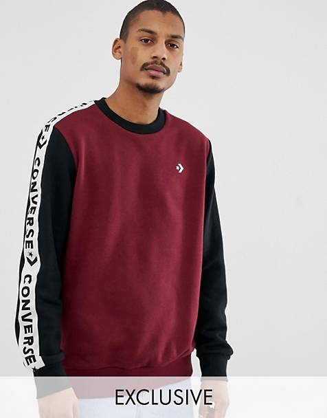 5a66f48e82ae Converse Sweat With Tape Side Stripe Exclusive To ASOS