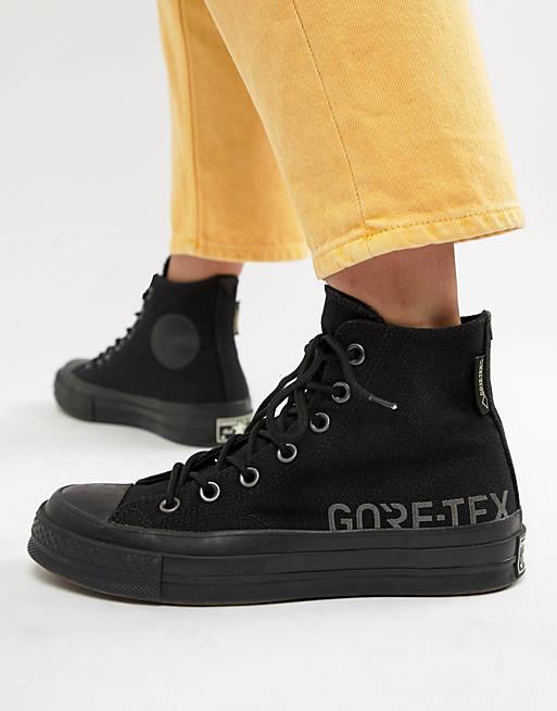 Converse X Gore-tex Chuck 70 hi black waterproof sneakers