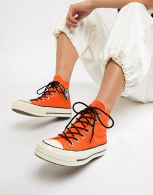 Image 1 of Converse X Gore-tex Chuck 70 hi orange waterproof sneakers