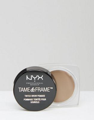 Crema de color para cejas para definir y pulir de NYX Professional Makeup