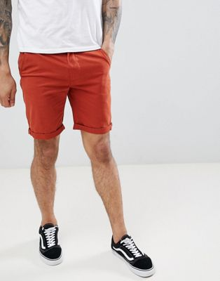 D-Struct Turn Up Chino Shorts